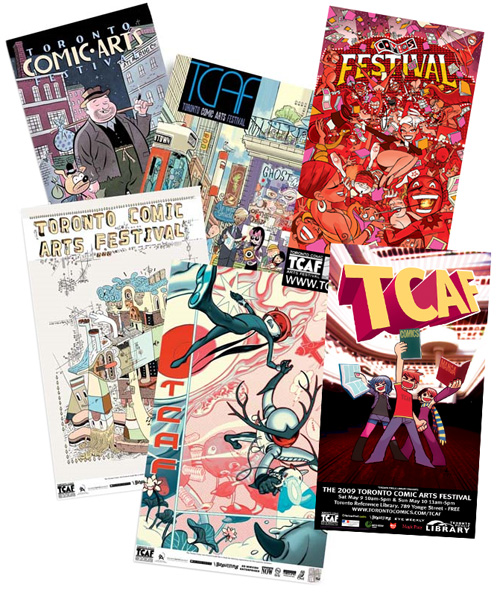 tcaf posters