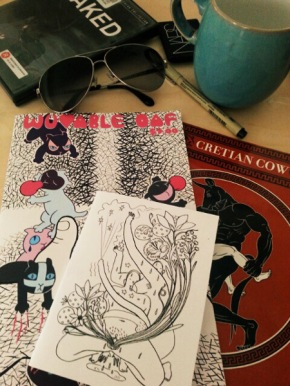 recommended naughty comics from TCAF15