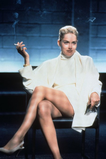 BASIC INSTINCT, Sharon Stone, 1992